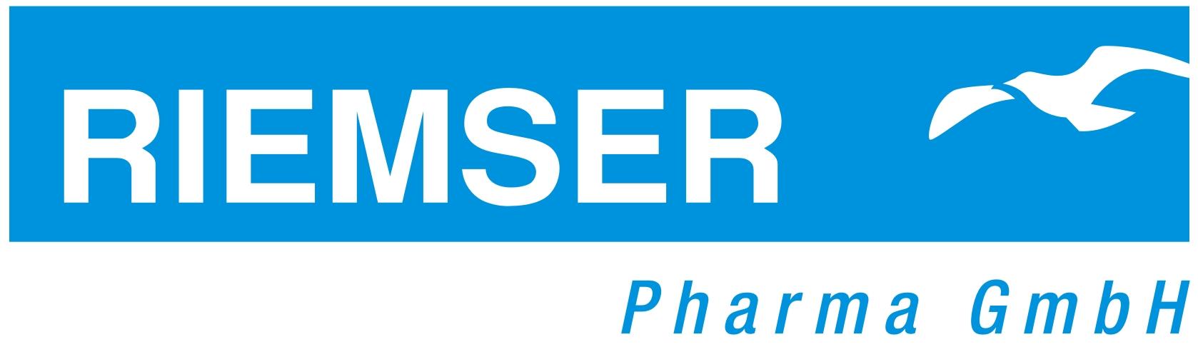 RIEMSER Pharma GmbH Logo-cyan